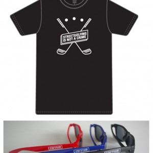 T-shirt + lunette