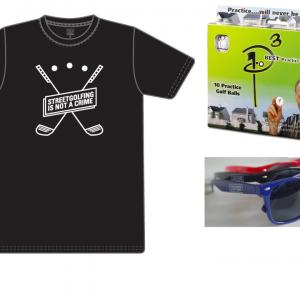 T-shirt + pack 10 + lunettes